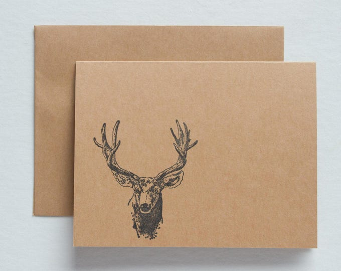 Deer Note Cards