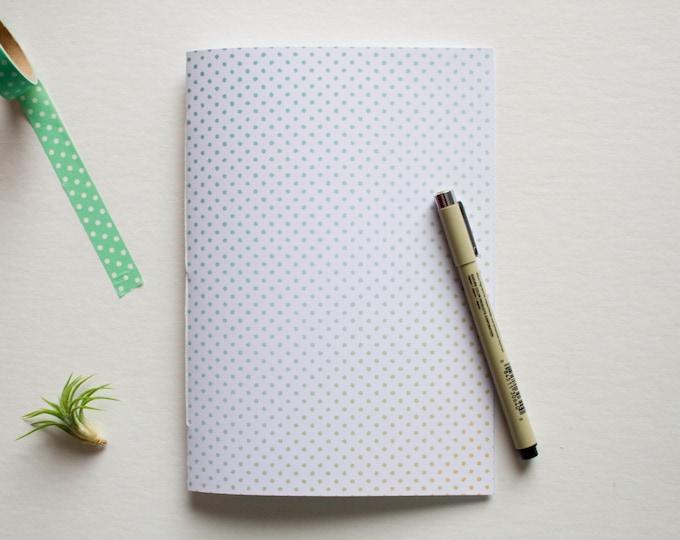 Multi Colored Polkadot Journal