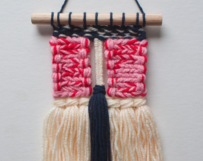 Sweet & Savory, Small Woven Wall Hanging