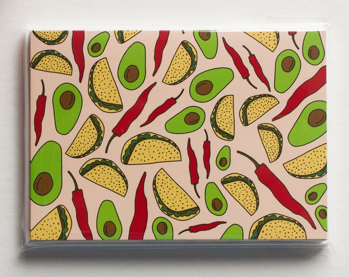A1 Taco Note Cards