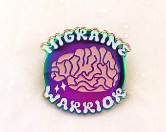 Migraine Warrior Pin