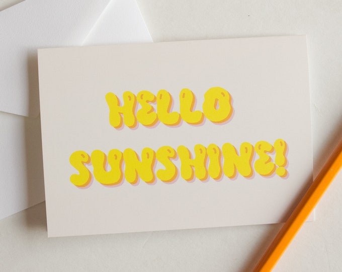 Hello Sunshine Card Set