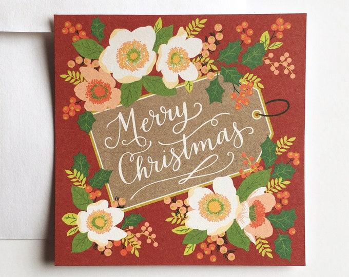 Flat Christmas Cards