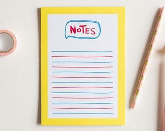 CMY Tear Away Notepad