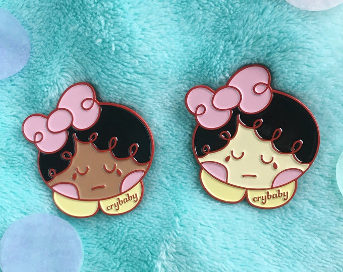 Emotional Emily Crybaby Pin