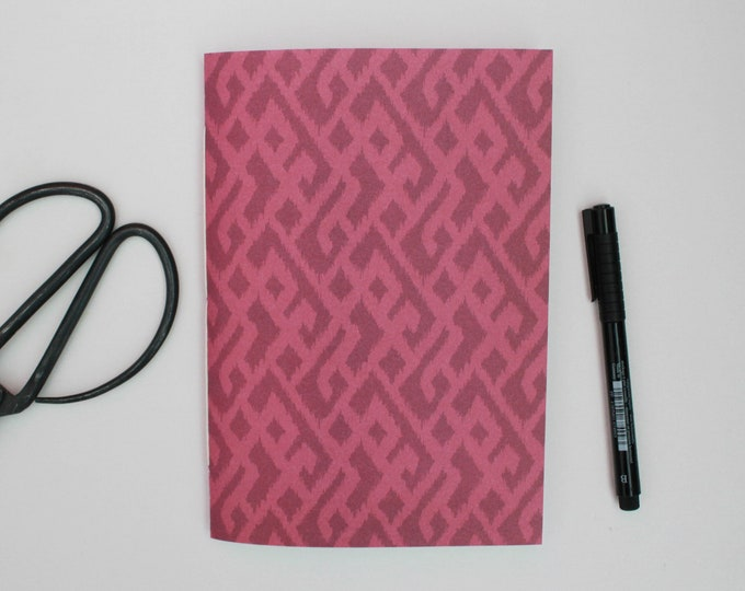 Purple Patterned Journal