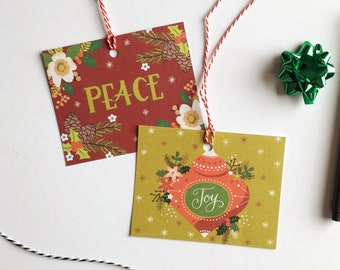 Cute Christmas Gift Tags