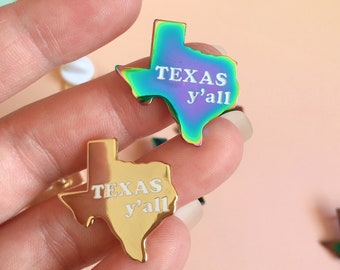 Texas y'all Pin