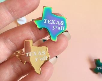 Texas y'all Pin