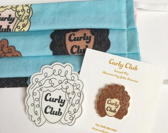 Curly Club Gift Set