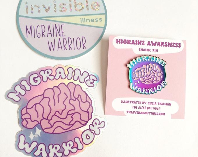 Migraine Warrior Gift Set