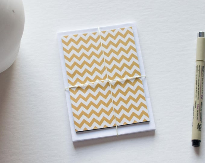 Cute Chevron Stationery