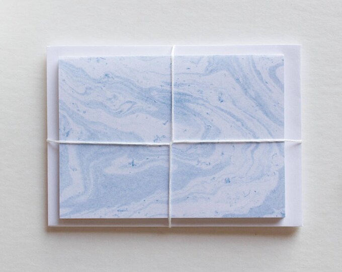 Small Marbled Note Cards