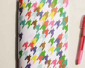 Houndstooth Blank Journal