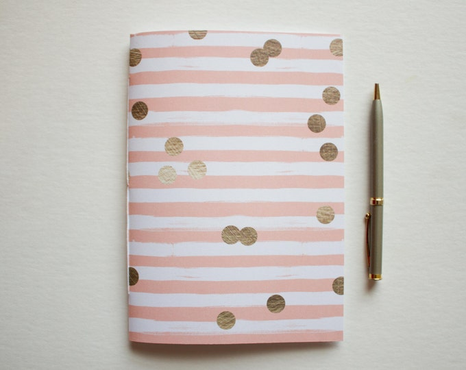 Striped Lined Journal