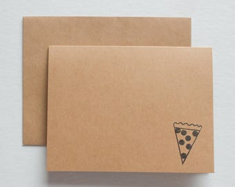 Pizza Note Cards