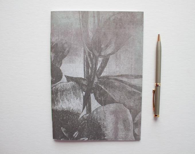 Gray & Green Notebook