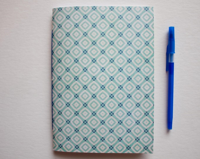 Blue Double Sided Cover Journal