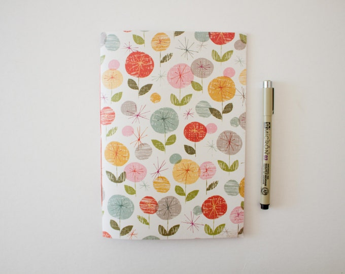 Cute Floral Notebook
