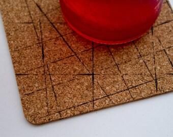 Square Geometric Coasters