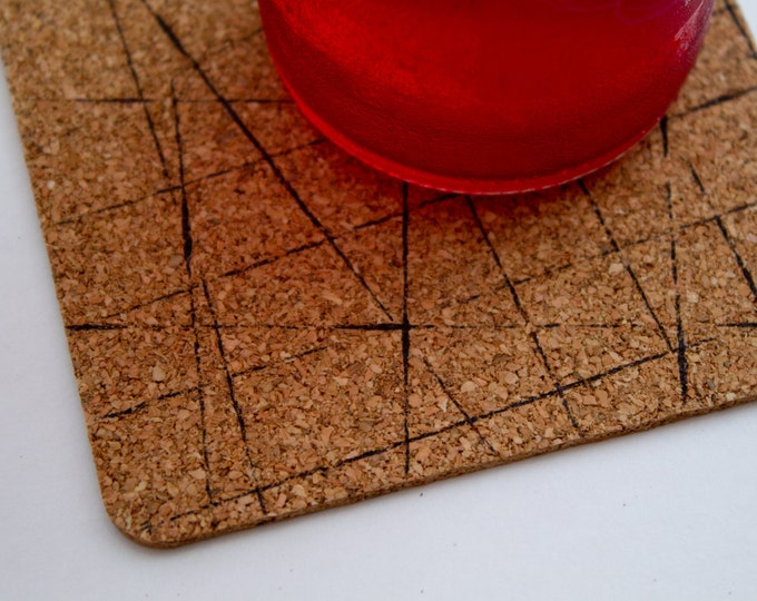 Square Geometric Coasters