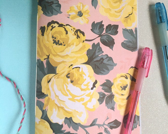 Floral Travel Journal
