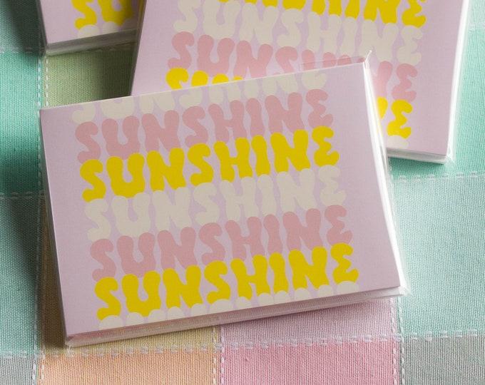 Pastel Sunshine Note Cards