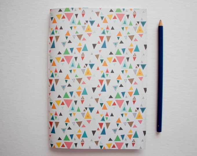 small sketchbook, paper journal, travel journal, writing journal, sketchbook journal, notebook journal, prayer journal, geometric journal