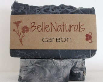 Carbon - Activated Charcoal Acne Soap with Tea Tree Essential Oil