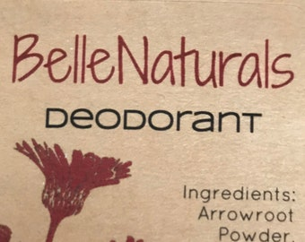 Deodorant - all natural and effective