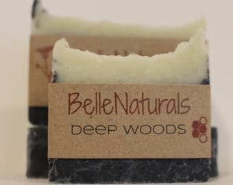Deep Woods - rich, earthy aroma with a terrific lather