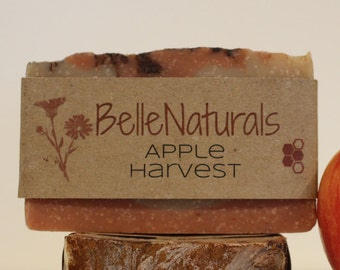 Apple Harvest - apple cider, all natural cinnamon and ginger to warm your powder room or shower