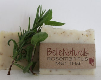 Rosemarinus Mentha - refreshingly minty, smooth lather, great summer soap