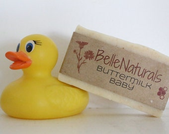 Buttermilk Baby - gentle, moisturizing buttermilk bar for babies and the whole family
