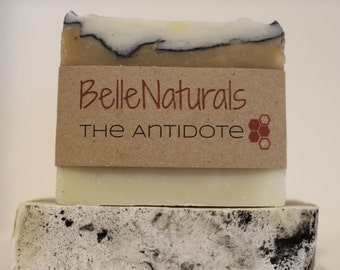 The Antidote - jewelweed kills poison ivy oil in this soap for hikers, gardeners, and everyone who likes soft skin