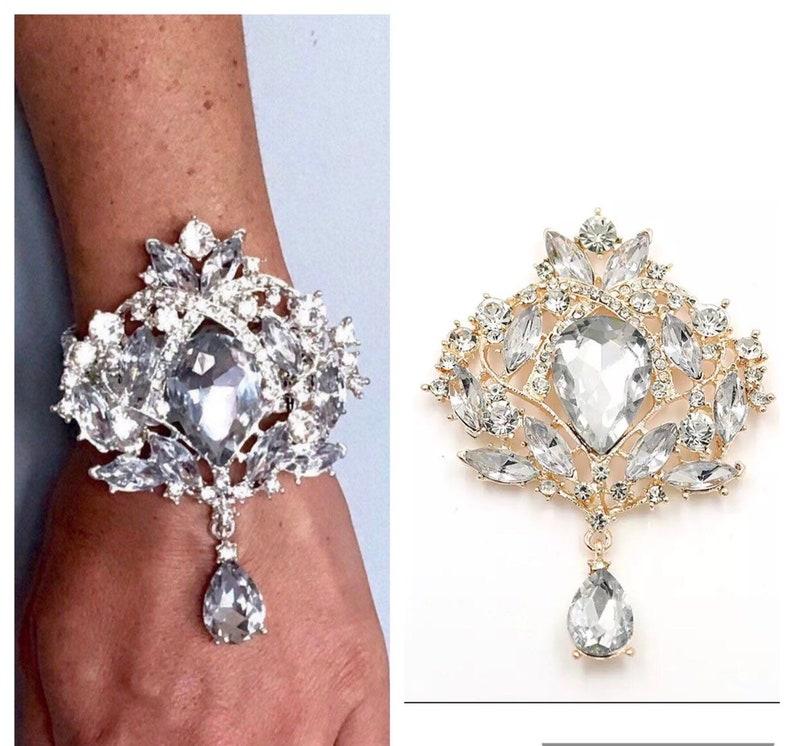 Crystal Wrist Corsage Bling Wrist Corsage Diamond Corsage Crystal Corsage Prom Corsage Silv 1 Crystal Wrist Corsage Crystal Bracelet