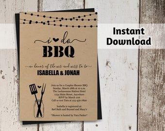bbq thank you postcard template printable thanks card i do etsy