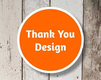 Matching Thank You Design for Invitations