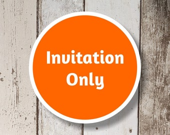 Invitation Only - Get the invitation only of a Instant Invitation full set