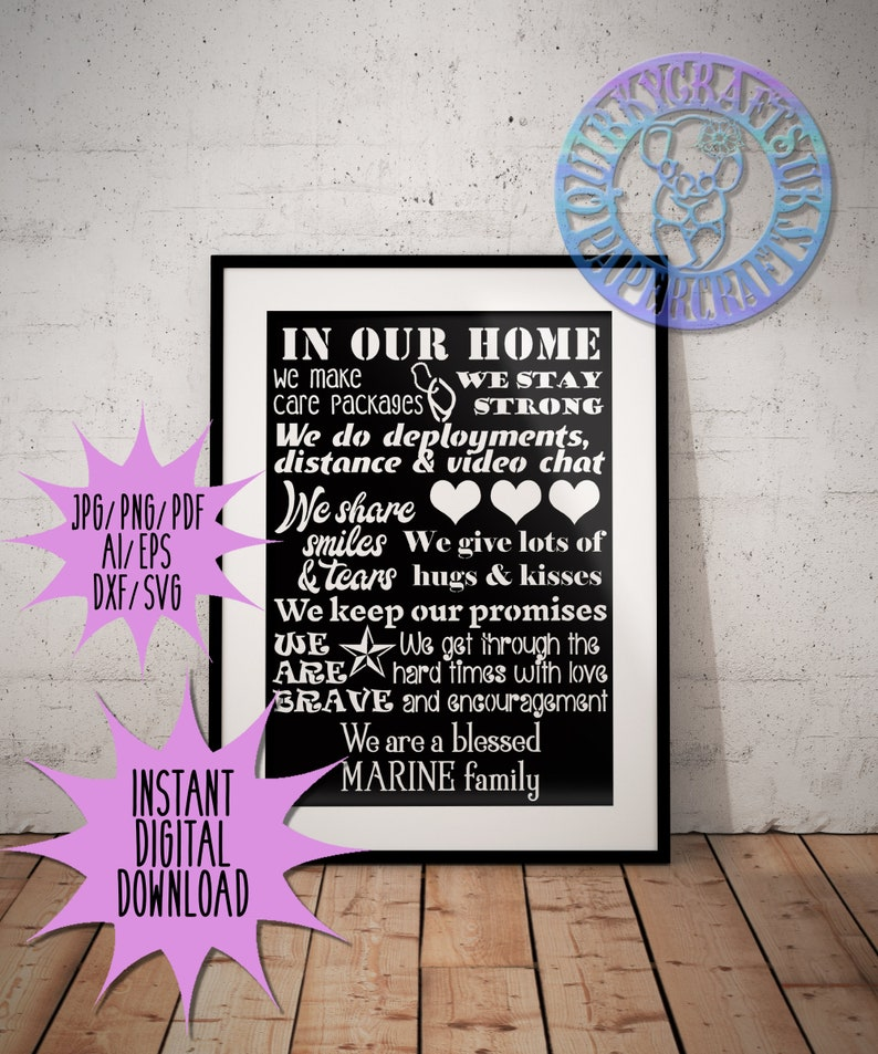 birthday 5 USA Military Family papercutting templates home decor wall art jpgpngpdfaidxfepssvg Commercial Licence Instant Download