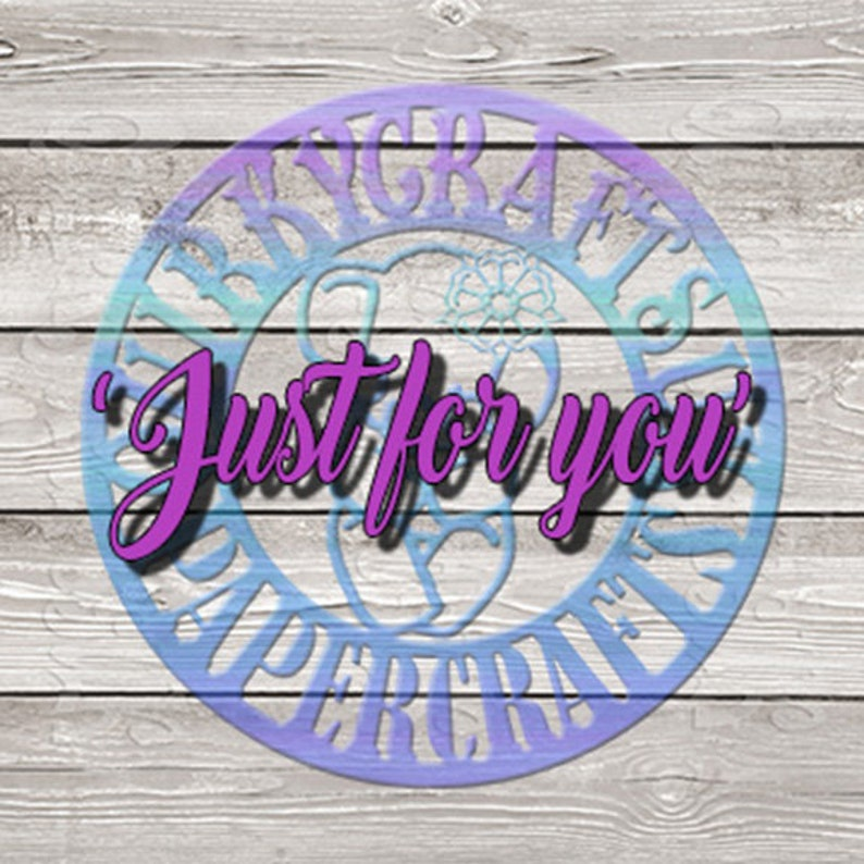bespoke designs customised Custom Option #3 /'Just for YOU/' Commercial Use Personalised EXCLUSIVE USE