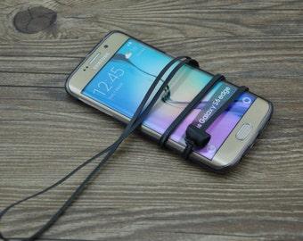 Handmade creative Samsung galaxy s6 S7 edge plus lanyard protective shell case one plus one