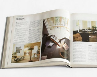 The House Style Book   Vintage Interior Decor Book   Vintage Coffee Table Book   Interior Design Book   Hardcover Coffee Table Book