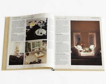 Vintage Interior Decor Book   Vintage Coffee Table Book   Interior Design Book   Hardcover Coffee Table Book   The Decorating Book