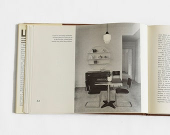 Vintage Interior Decor Book   Vintage Coffee Table Book   Interior Design Book   Hardcover Coffee Table Book   Lifespace by Spiros Zakas
