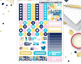 Escape Collection Sampler Planner Stickers! KT587