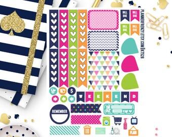 Brighter Days Collection Sampler Planner Stickers! Set of 37! KT528