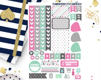 Nautical Collection Sampler Planner Stickers! KT432