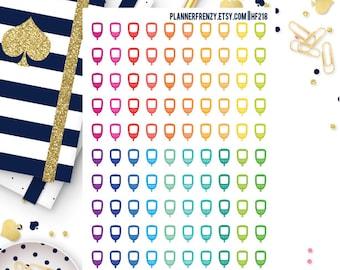 100 Glucose Meter Planner Stickers! HF218