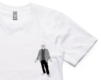 Larry David Shrug Tee